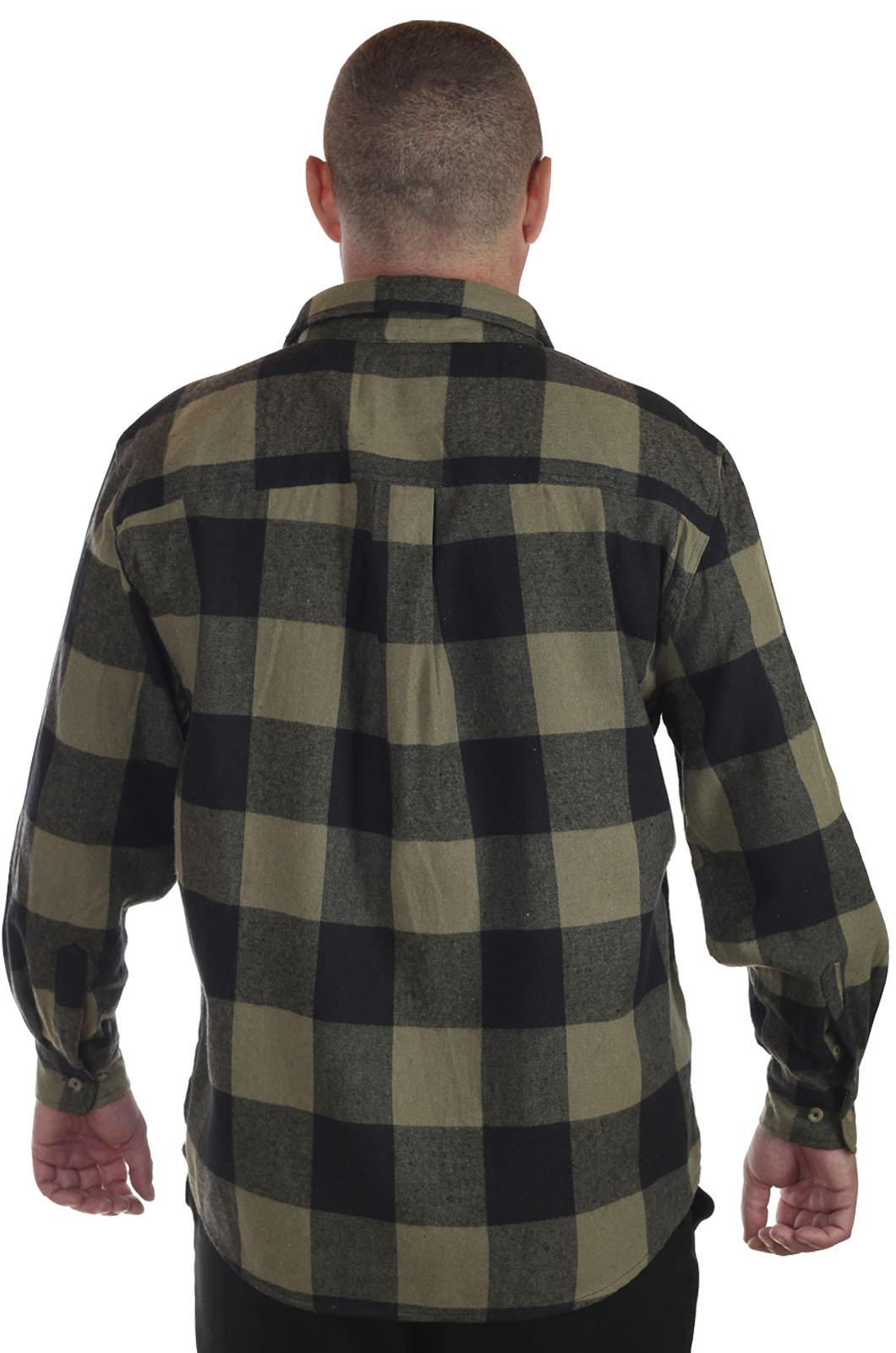 Недорогие мужские рубашки в клетку
