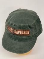 Оливковая кепка-немка Harley-Davidson