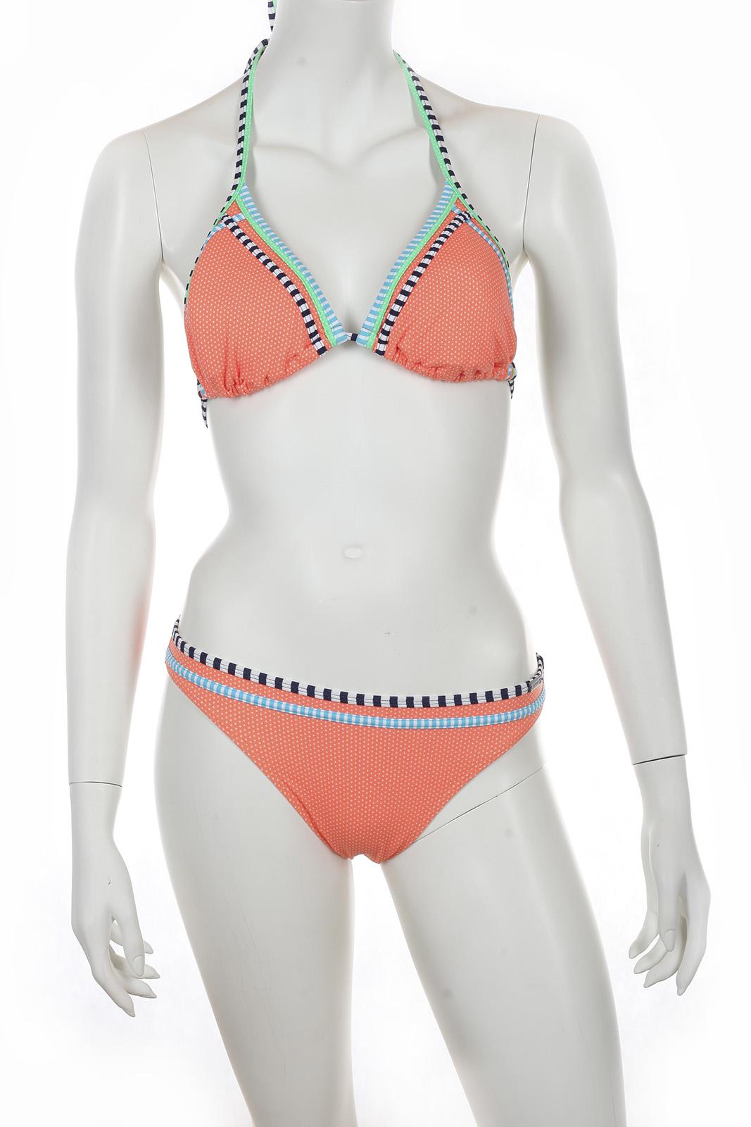 Оранжевый купальник от Olympia.
