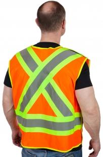 Оранжевый сигнальный жилет 3M Scotchlite™ (США)