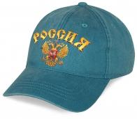 """Оригинальная бейсболка """"Россия"""" с гербом. Лучшее качество. Выглядит дороже, чем стоит! Лимитированная серия, скорее заказывай!"""