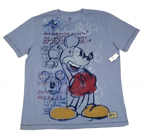 Оригинальная футболка Disney Store. Натуральный хлопок, мягкая ткань
