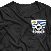 Переводная картинка на ткань Уругвай