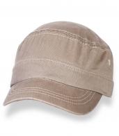 Песочная мужская кепка-немка