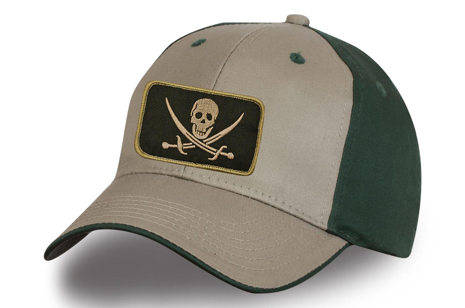 Пиратская кепка с черепом - купить онлайн