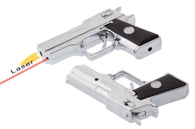 Пистолет-зажигалка в подарок