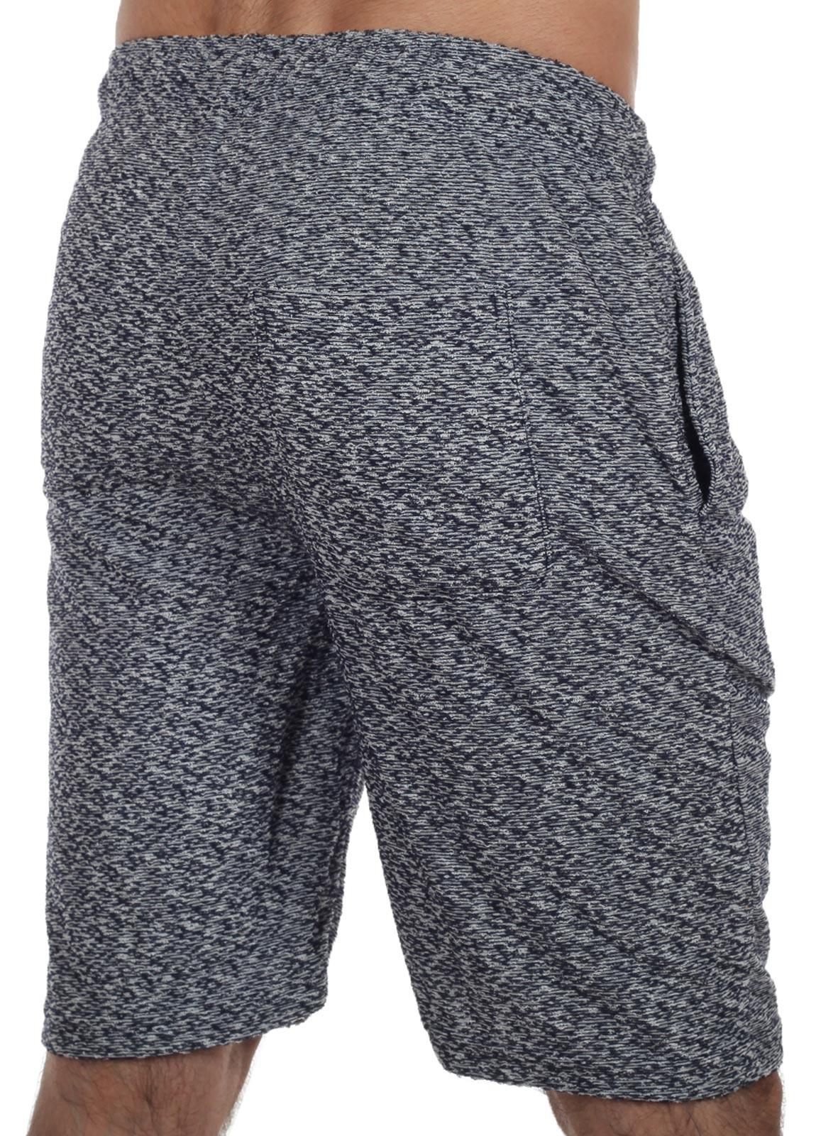 Серые мужские шорты на резинке – недорогая мужская одежда для дома
