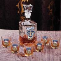 """Подарочный набор для крепких напитков """"300 лет Полиции"""""""