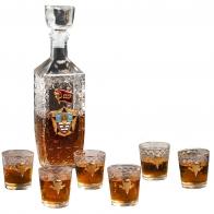 Подарок десантнику на Новый год   Купить набор для спиртных напитков