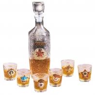 Подарок на новогодние праздники   Купить набор для крепких напитков
