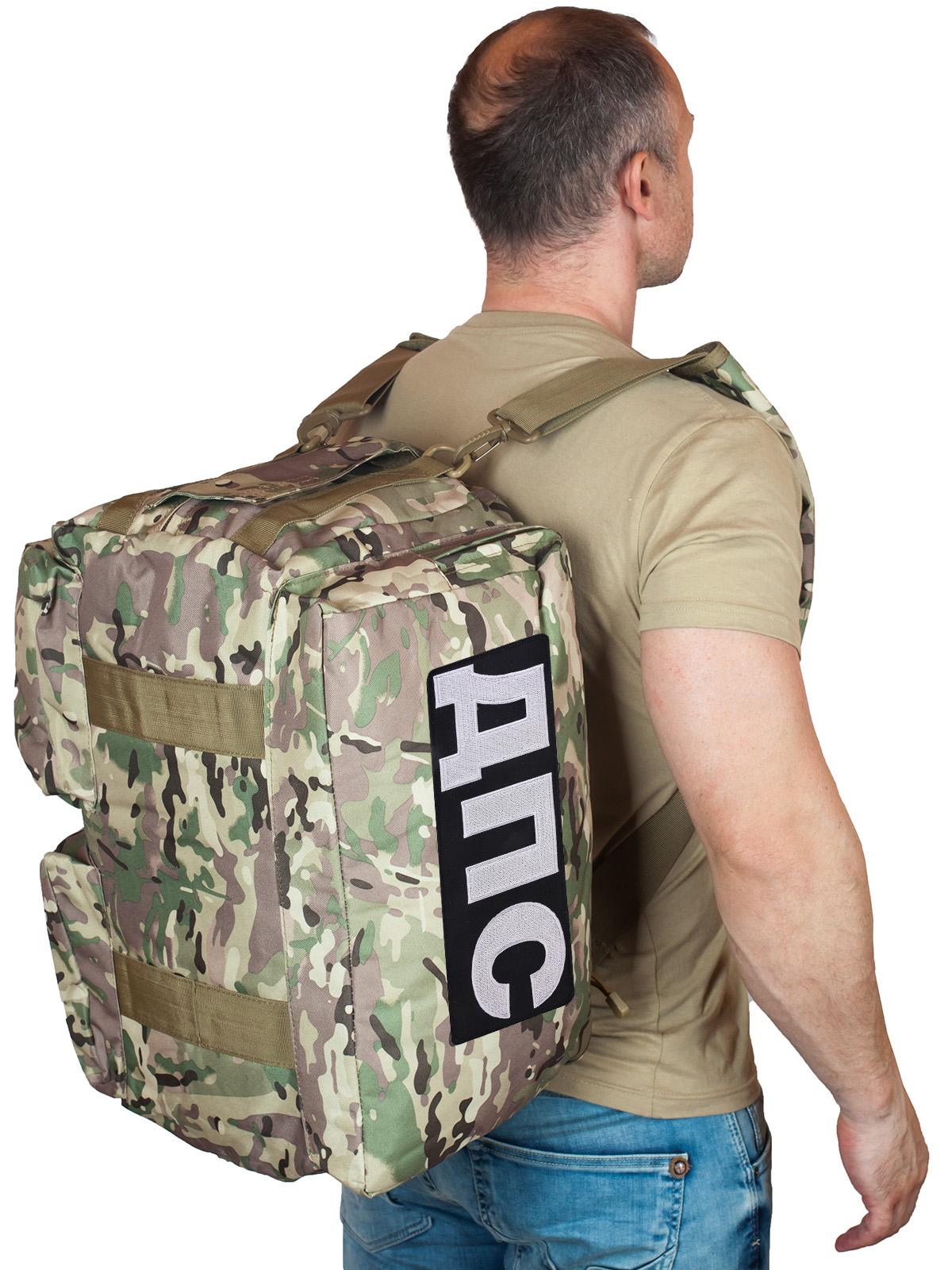 Купить походную камуфляжную сумку-рюкзак ДПС по специальной цене в Военпро