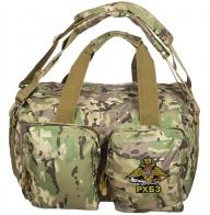 Походная камуфляжная сумка с эмблемой РХБЗ