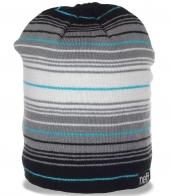 Полосатая шапка Neff - очаровательный головной убор для модниц. Комфорт гарантирован!