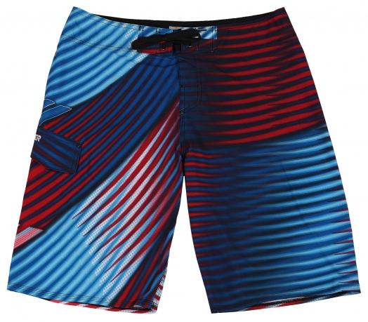 Полосатые шорты Quiksilver. Отличная пляжная модель