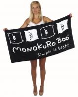Большое пляжное полотенце Monokuro Boo