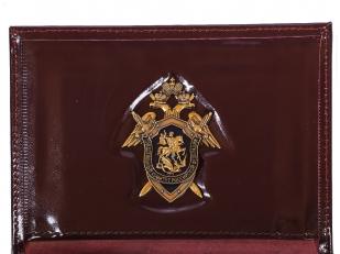 Портмоне-обложка для удостоверения с жетоном «Следственный Комитет РФ» по выгодной цене