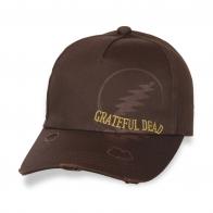 Порванная дизайнерская бейсболка Grateful Dead.