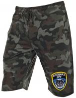 Повседневные хлопковые шорты с символикой Спецназа ГРУ