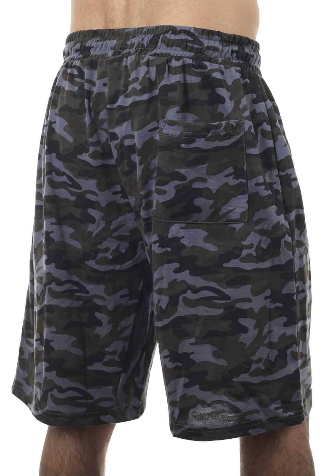 Купить в интернет магазине повседневные мужские шорты с вышивкой Спецназ