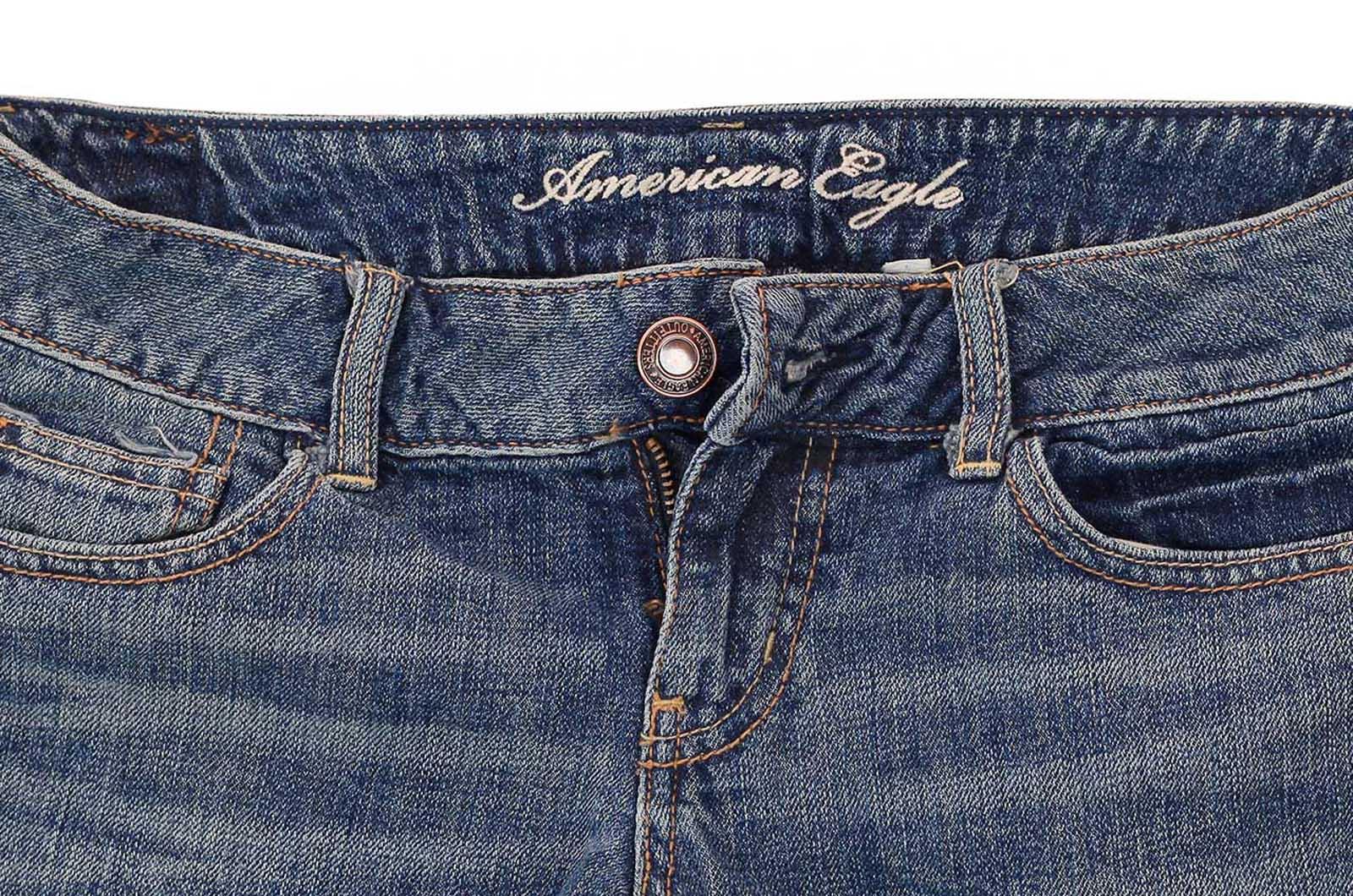 Правильные джинсовые шорты! Поспеши! Дизайнеры American Eagle разработали эту модель именно для твоей попы!