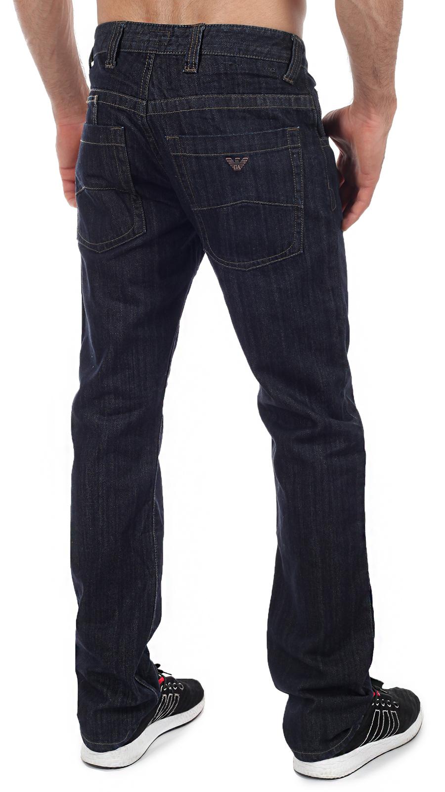 Прямые мужские джинсы классического темно-синего цвета – самая правильная цена в Военпро!