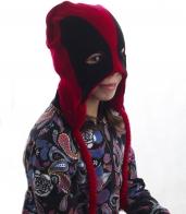 Прикольная детская шапка-маска. Полностью закрытые уши и надежные завязки не пропустят никакой холод