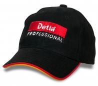 Профессиональная черная кепка Detia®.