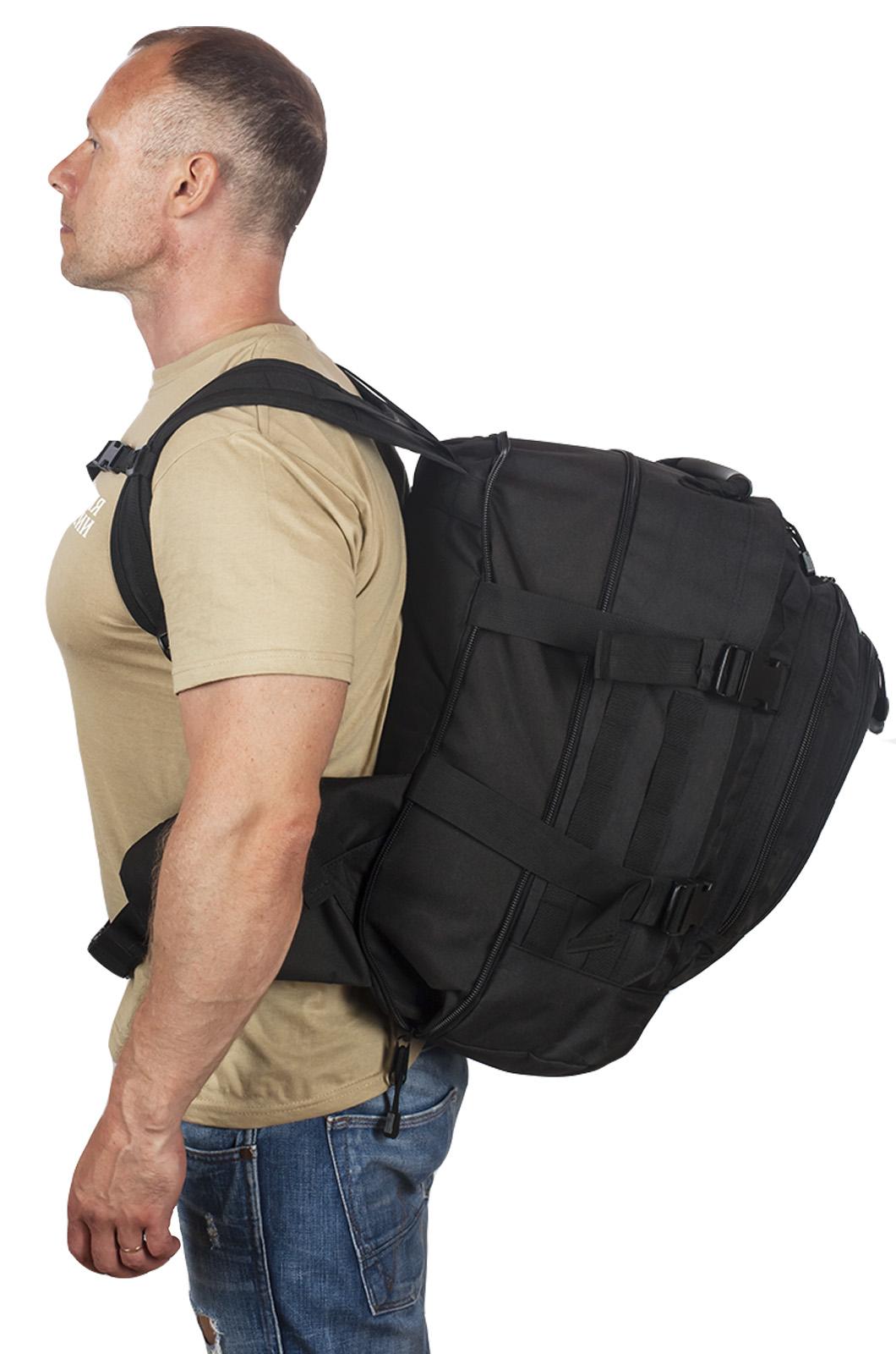 Черный тактический ранец 3-Day Expandable Backpack 08002А