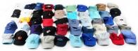 Разноцветные летние кепки