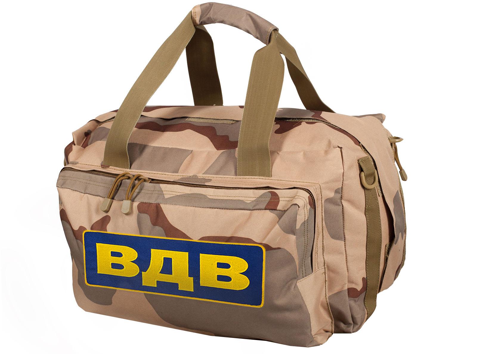 Купить в интернет магазине тактическую сумку-рюкзак десантника