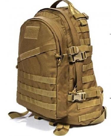 Рейдовый рюкзак хаки-песок