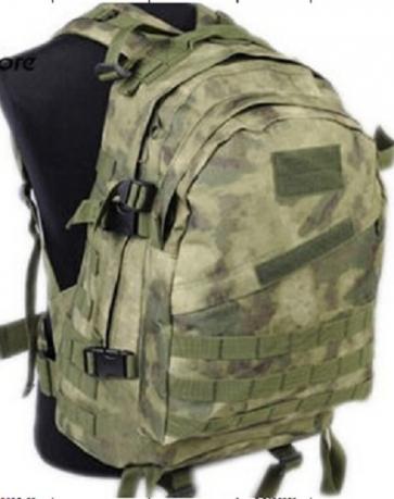 Рейдовый рюкзак камуфляж A-TACS FG