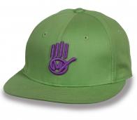 Рэперская кепка снэпбэк с логотипом