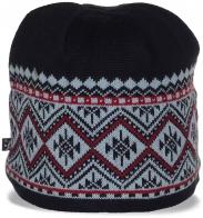 Роскошная женская жаккардовая шапка супермодная в этом сезоне для активной молодежи