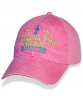 Розовая женская бейсболка Florida.