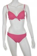 Розовый купальник в горошек от Faba.