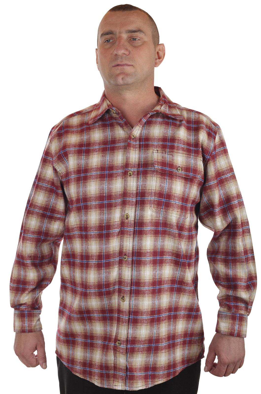 Купить мужскую рубашку в клетку
