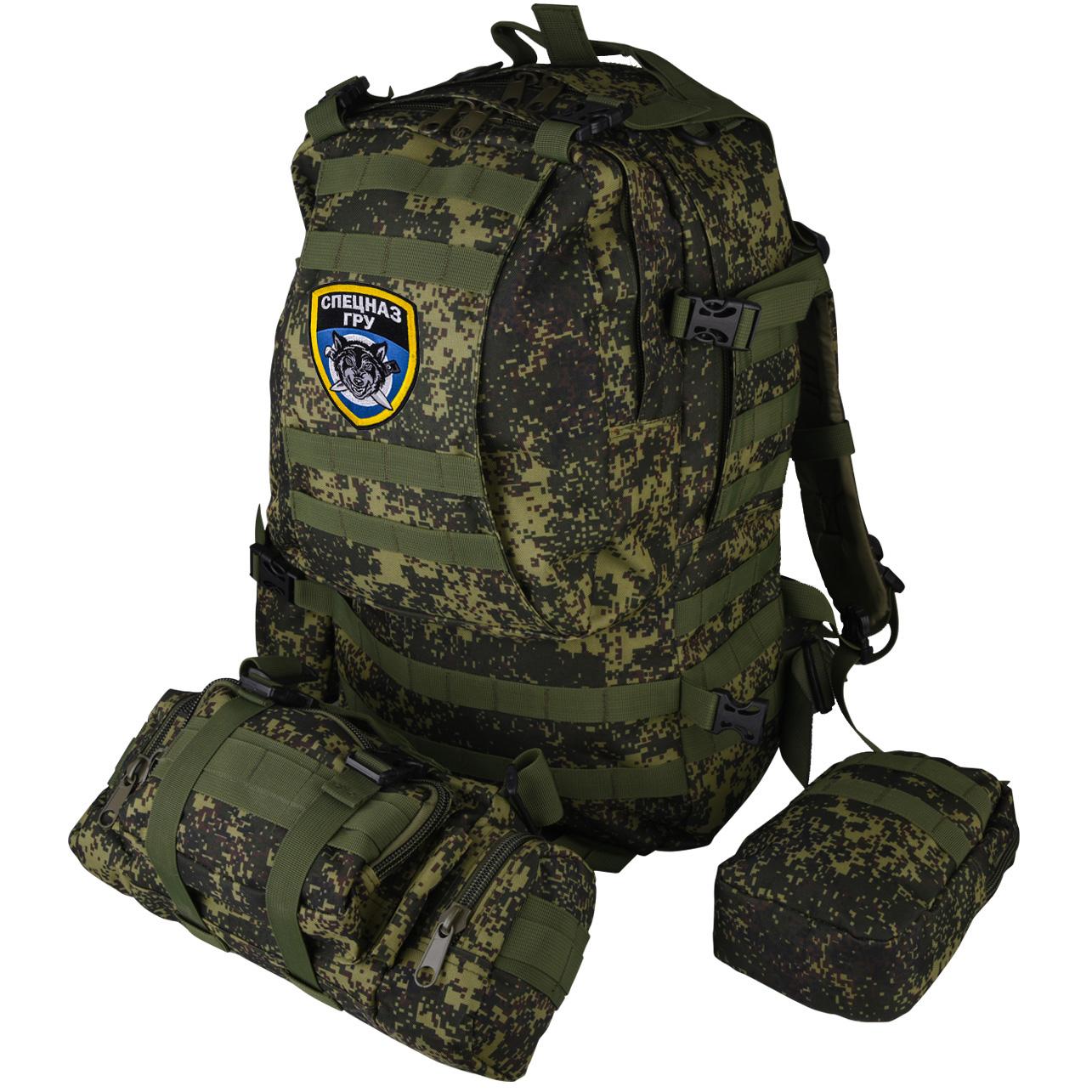 Купить камуфляжный спецназовский рюкзак ГРУ