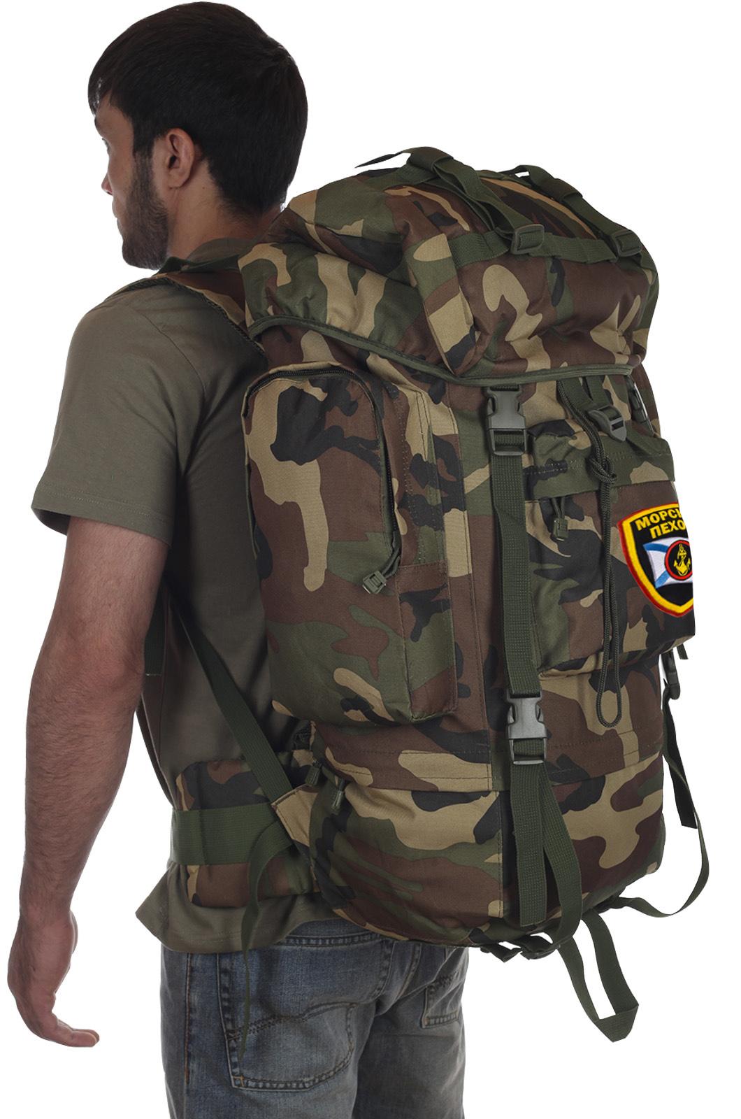 Купить недорогой тактический рюкзак объемом 60 литров