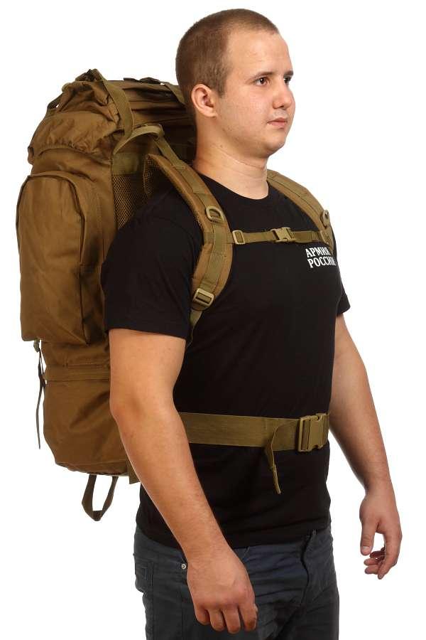 Тактический рюкзак хаки-песок «Морская пехота»