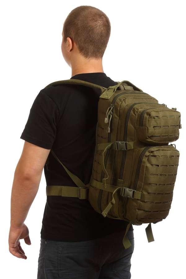 Рюкзак спецназа (хаки-олива)