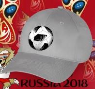 Серая бейсболка с мячом к ЧМ-2018.