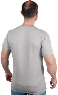 Серая футболка с надписью G-Star Raw по выгодной цене