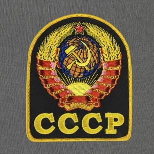 """Серые мужские спортивные штаны """"Герб СССР""""."""