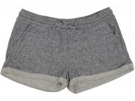 Серые шорты с подворотом от Sinsay