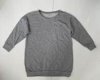 Серый женский свитшот для модниц