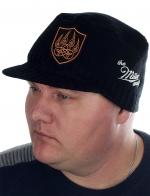 Крутая мужская шапка-кепка Miller Way с медвежьей лапой – Печатью древнерусского Бога Велеса. Пора отказаться от ширпотреба! Береги здоровье и имидж!