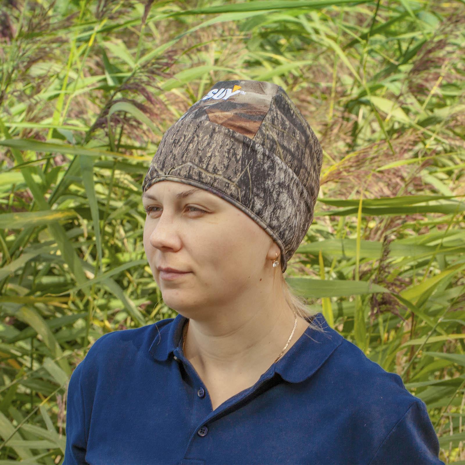 Лучшая маскирующая одежда для охотников – камуфляжные шапки SUY