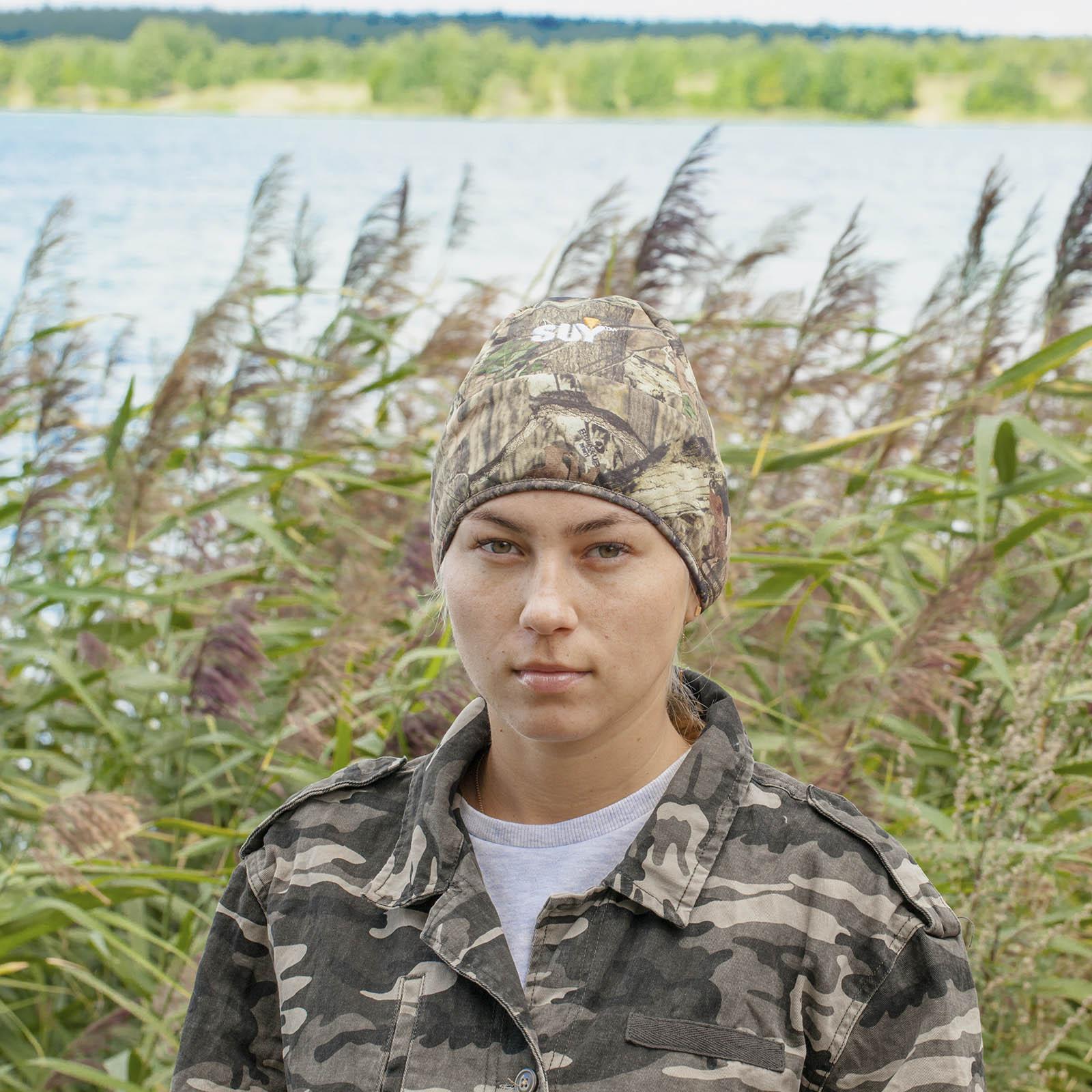 Купить в Москве женскую шапочку Realtree