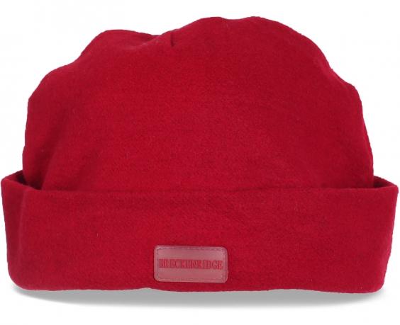 Шерстяная женская шапка Breckenridge с отворотом. Подчеркнет Ваш стиль и Вашу привлекательность даже в очень холодную погоду